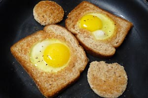 Fathers Day Egg Recipe