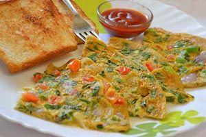 Fathers Day Masala Omelette Recipes